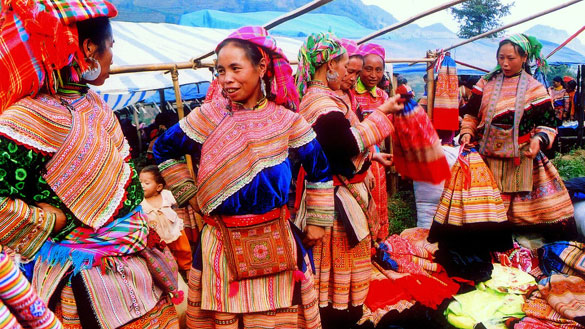 Sapa's Authentic Hill Tribe Markets
