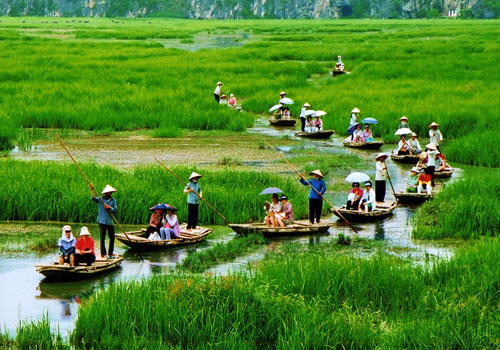 Hoa Lu - Van Long Nature Reserve Full Day