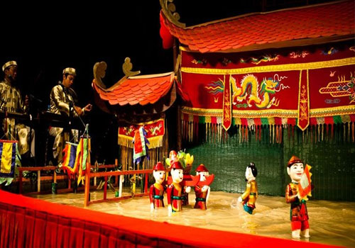 Traditional Night Show at Weekend