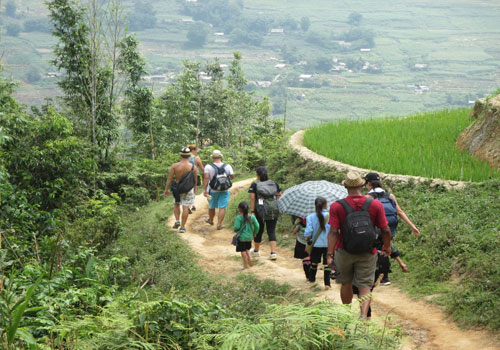 SAPA TREKKING AND BIKING  HOTEL STAY 2D3N